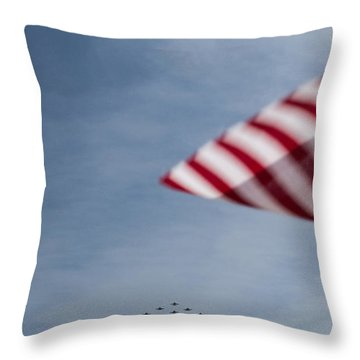 Throw Pillow featuring the photograph Almost Home by Angela DeFrias