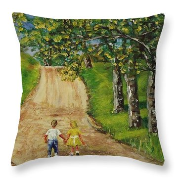 Almost Home Sis Throw Pillow