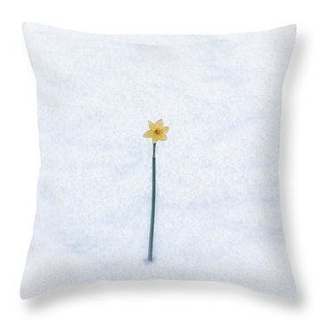 Almost Spring Throw Pillow by Joana Kruse
