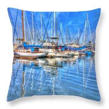Almost Summer Throw Pillow by Heidi Smith