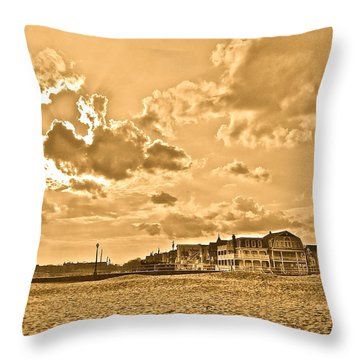 Almost Summer Throw Pillow