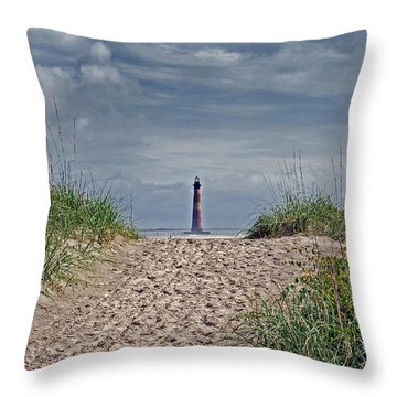 Almost There Throw Pillow by Skip Willits