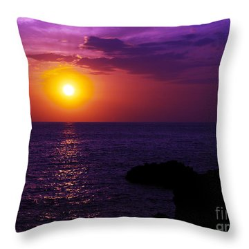 Aloha I Throw Pillow by Patricia Griffin Brett