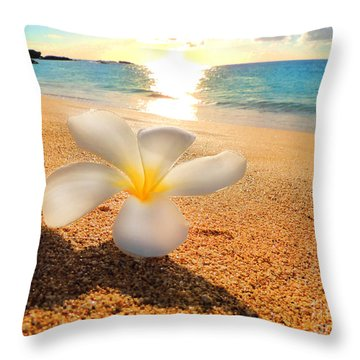 Aloha Paradise Throw Pillow