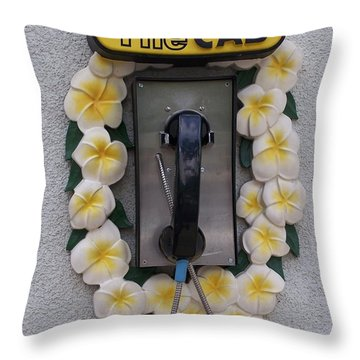 Aloha Style Throw Pillow