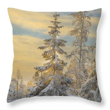 Alone But Strong Throw Pillow by Rose-Maries Pictures