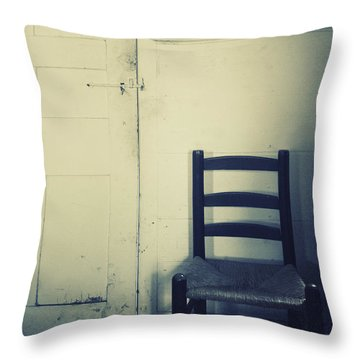 Alone In A Room Throw Pillow by Margie Hurwich