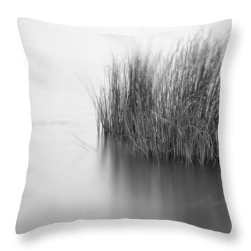 Alone In The Middle Throw Pillow