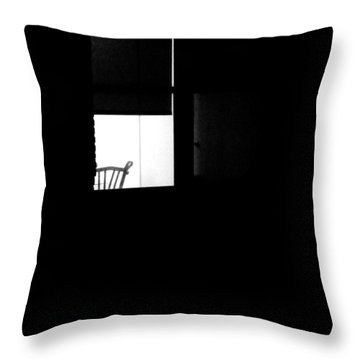 Alone Throw Pillow by Newel Hunter