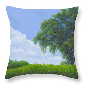 Alone Summer Throw Pillow