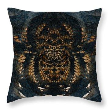 Along Came A Spider Throw Pillow