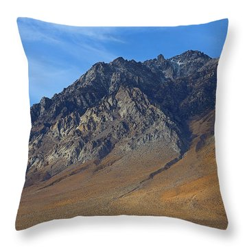 Throw Pillow featuring the photograph Along Highway 395 Part Two by Viktor Savchenko
