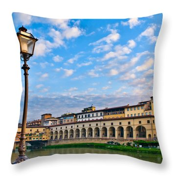 Along The Arno #2 Throw Pillow