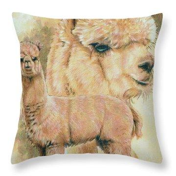 Alpaca Throw Pillow