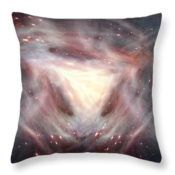 Alpha And Omega Throw Pillow by Bill Stephens