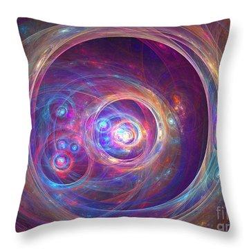 Alpha Centauri Throw Pillow by Kim Sy Ok