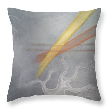 Alpha Consciousness Throw Pillow