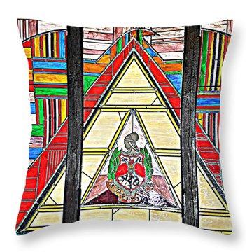 Alpha Kappa Alpha Throw Pillow