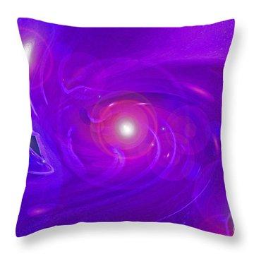 Alpha Level 2 Throw Pillow by First Star Art