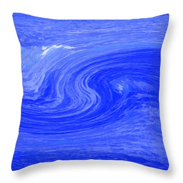 Alpha Wave By Jrr Throw Pillow by First Star Art