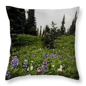 Alpine Beauty Throw Pillow