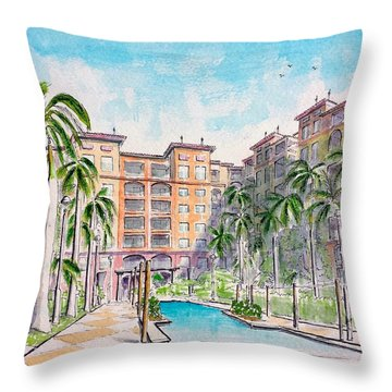Altamar Throw Pillow