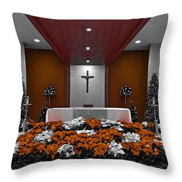 Altar Throw Pillow