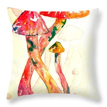 Altered Visions IIi Throw Pillow by Beverley Harper Tinsley