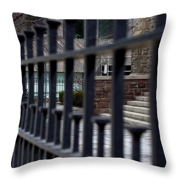 Alternate Lines Throw Pillow