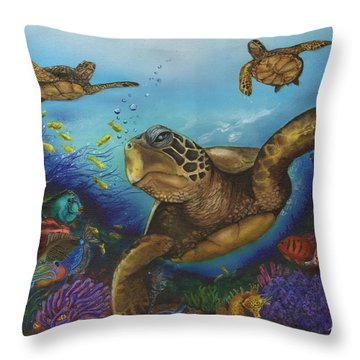 Alternate Universe Throw Pillow