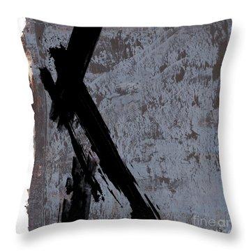 Alternative Edge I Throw Pillow by Paul Davenport