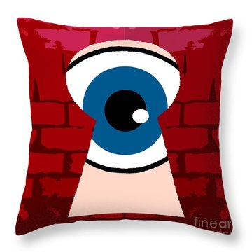 Alternative Point Of View Throw Pillow by Patrick J Murphy