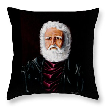 Altions...painted When 17years Old Throw Pillow by Ron Haist