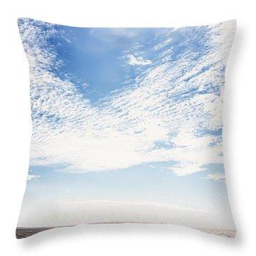 Altocumulus At Sea Throw Pillow