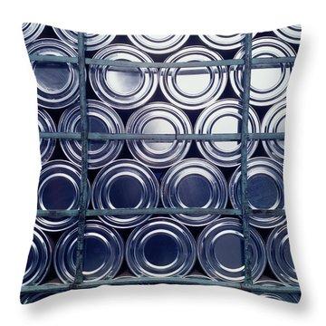 Drum Circle Throw Pillows