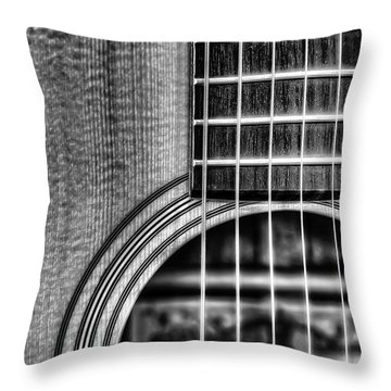 String Instruments Throw Pillows