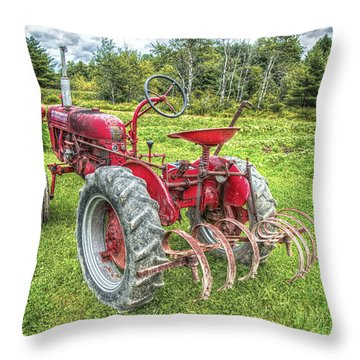 Always Look Ahead Throw Pillow by Richard Bean