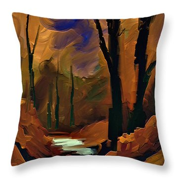 Always Nature Throw Pillow by Steven Lebron Langston