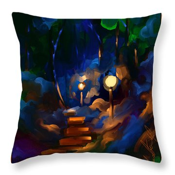 Always On My Mind Throw Pillow by Steven Lebron Langston