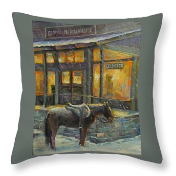 Always Open Throw Pillow by Donna Tucker