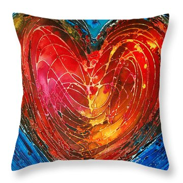 Always Throw Pillow by Sharon Cummings