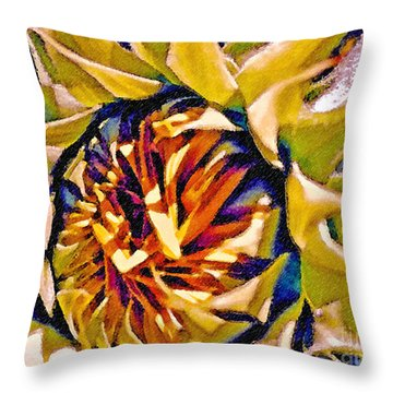 Throw Pillow featuring the photograph Always Summer by Gwyn Newcombe