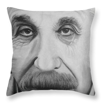 Always Thinking Throw Pillow