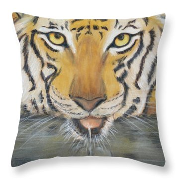 Always Watching  Throw Pillow by Patricia Olson