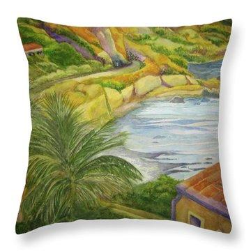 Am Taormina Throw Pillow