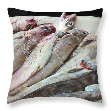 Amalfi Fish Throw Pillow