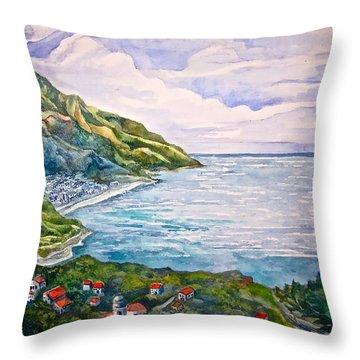 'amalfitana' Throw Pillow