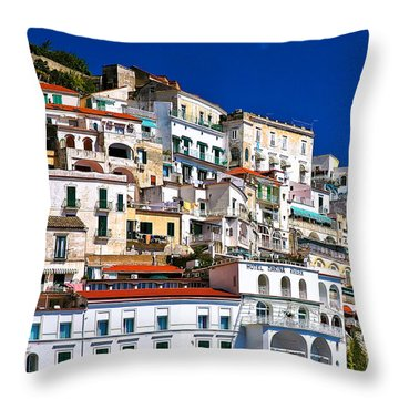 Amalfi Architecture Throw Pillow