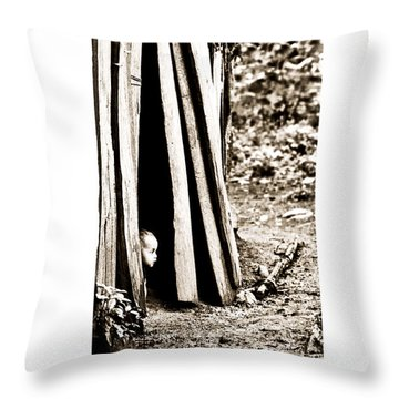 Throw Pillow featuring the photograph Aman Murillo by Tina Manley