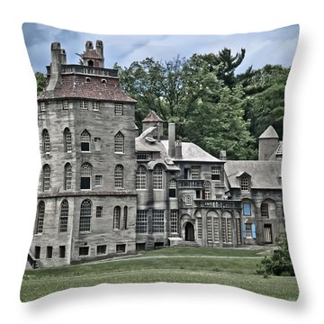 Amazing Fonthill Castle Throw Pillow